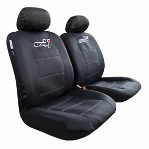 Canvas Car Seat Cover Waterproof Durable For Toyota Tacoma 1999 2019 Pickups
