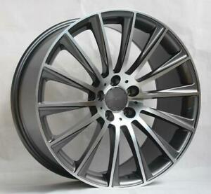 20 Wheels For Mercedes S450 4matic Sedan 2018 Up staggered 20x8 5 9 5