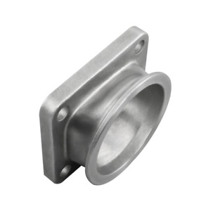T4 4 Bolt Turbo To 3 V band 304 Stainless Steel Cast Flange Adapter Converter