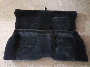 88 91 Honda Prelude Complete Rear Seat Bottom Top Mint Condtion