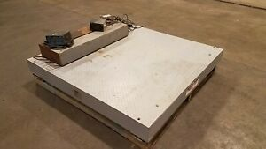 Weigh tronix 20 000 Lb Digital Floor Scale