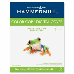 Copier Digital Cover Stock 60 Lbs 8 1 2 X 11 Photo White 250 Sheets
