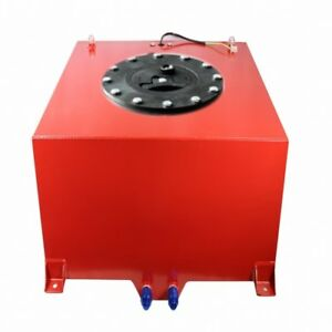 5 Gallon Red Coated Aluminum Racing drifting Fuel Cell Gas Tank