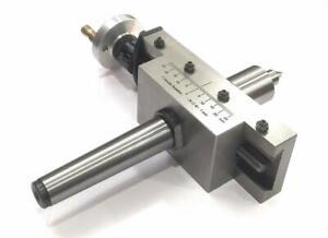 New Improved Taper Turning Attachment With Revolving Live Center mt1