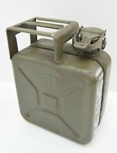 Original German Army 5 Litre Fuel 5l Can Sandrik Military Petrol Can Rare Issue