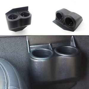 2 Cup Holder Drink Coffee Beverage Seat Seam Car Mount For Gmc Corvette 97 13