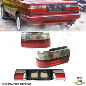 1988 1992 Toyota Corolla Tail Lights And License Board Set Oe Style 3pcs