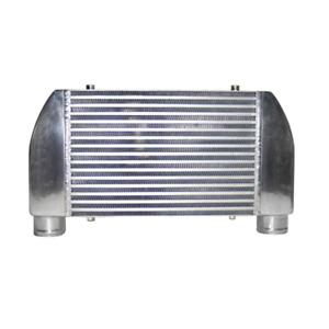 V Mount 25 X12 X4 Turbo One Side Intercooler For Mazda Rx7 Ford F150