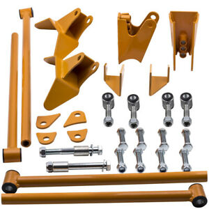 Fit Chevrolet S10 Triangulated 4 Link Kit Suspension Drag 1994 2001 02 03 04