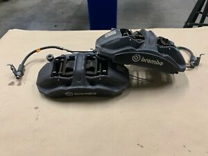 2016 2018 Mustang Gt350 Front Brake Pair Calipers 15 Inch Brembo