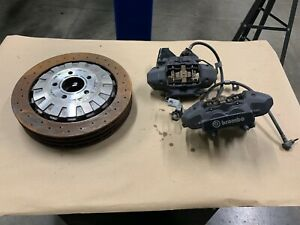 2016 2017 2018 Mustang Gt350 Rear Brake Pair Calipers Brembo E Brake