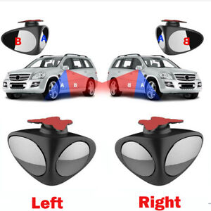 Adjustable 360 Blind Spot Mirror Wide Angle Rear View For Vehicle Car Truck