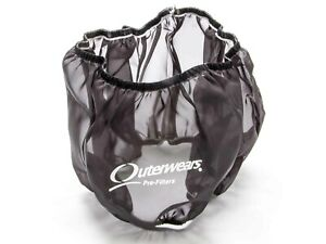 Outerwears 14 In Od 5 In Tall Black Pre Filter Air Filter Wrap P N 10 1004 01