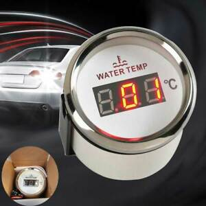 52mm Universal Water Temperature Gauge For Boat Car Thermometer Water Temp Meter