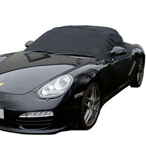 114 Porsche Boxster 987 Convertible Soft Top Roof Half Cover 2005 To 2012
