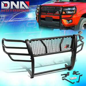 J2 Engineering For 2005 2015 Toyota Tacoma Front Bumper Grille Mesh Brush Guard