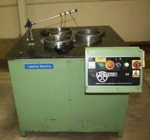 24 Lapmaster 24abj Open Faced Lapping Machine Lmc 47689