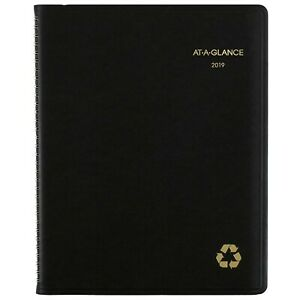 At a glance 2019 Weekly Monthly Planner Appointment Book 8 1 4 X 11 L