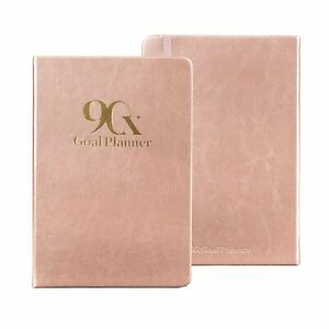 90x 90 Day Undated Goal Planner Productivity Goals Daily Life Journal Clas