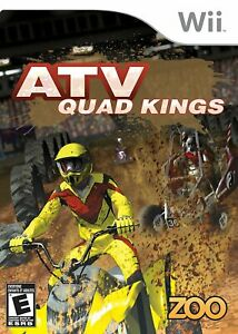 🔥  ATV Quad Kings Wii With Case