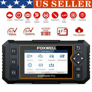 Automotive Full System Scanner Car Diagnostic Tools Airbag Abs Oil Service Reset