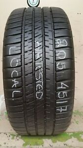 No Shipping Only Local Pick Up 1 Tire 205 45 17 Michelin Pilot Sport A s 3