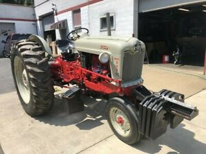 Ford 900 Tractor Tricycle Front End Restored