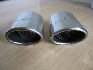 Set Of 2 Oem 2006 2015 Lexus Is250 Is350 Chrome Exhaust Tips P N 17408 31100