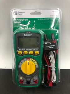 Commercial Electric Ms8301b Auto Ranging Digital Multimeter ud2001796