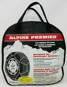 1530 Les Schwab Laclede alpine Premier Diamond Pattern Tire Snow Chains New
