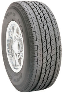 2 New Toyo Open Country H T 111h 60k Mile Tires 2756018 275 60 18 27560r18