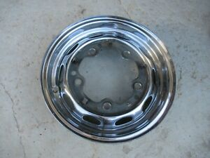 Porsche 356 Drum Brake Wheel Lemerz 4 1 2 J X 15 Date Stamped 12 60 Fl 10