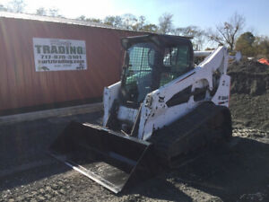 2012 Bobcat T770 Compact Track Skid Steer Loader Cab 2 Spd Joystick Coming Soon