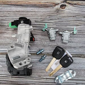For Honda Crv 2002 06 Ignition Switch Cylinder Door Lock W Keys Complete Set