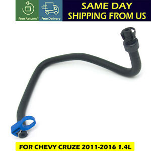 For Chevy Cruze 11 16 1 4l Coolant Bypass Hose From Outlet To Reservoir 13251447