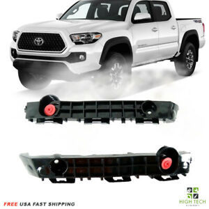 Front Bumper Support Retainer Brackets Left Right For 2016 2018 Toyota Tacoma