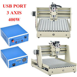Usb 400w 3axis 3040router Engraver 3d Cutter Pcb Wood Engraving Milling Drilling