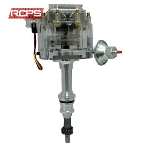 New Hei Distributor Ford 260 289 302 Small Block 1 wire Ready to run Clear Cap