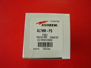 Andrew Al7nm ps Type N 1 5 8 Positive Stop Connector For Heliax Coaxial Cable