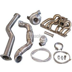 Cxracing Gt35 T4 Turbo Kit Manifold For 98 05 Lexus Is300 2jz Ge Na T Bolt On