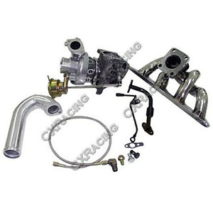 Cxracing Turbo Manifold Kit For 89 99 Dsm 1g 2g Eclipse Talon