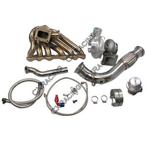 Cxracing Single Turbo Manifold Kit For Toyota Tacoma Truck 2jz gte Swap 2jzgte