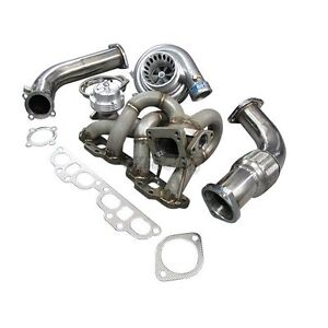Cxracing Top Mount T3 Gt35 Turbo Kit For Datsun 510 With Sr20det Engine Swap