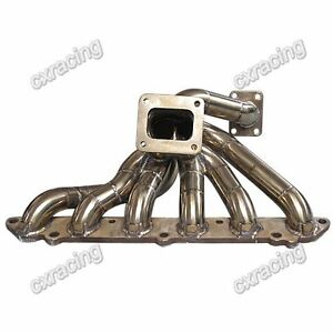 Cxracing 11 Gauge Thick T4 Turbo Manifold For 86 92 Supra Mk3 7m gte 7mgte