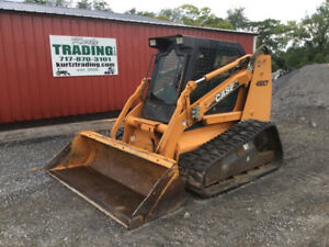 2007 Case 450ct Compact Track Skid Steer Loader Cab 2spd Joystick Only 900hrs