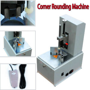 Electric Round Corner Cutter Corner Rounding Machine For Name Cards Paper Ce