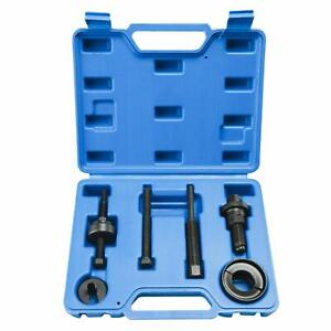 Power Steering Pump Pulley Puller Kits Remover Installer Tool Set For Gm Ford Us