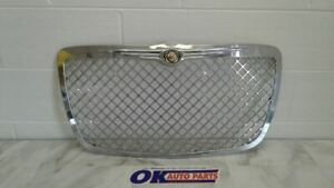 08 Chrysler 300 Center Upper Mesh Grill Grille Chrome