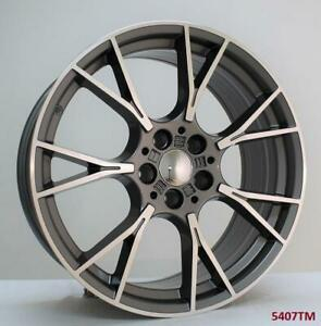 20 Wheels For Bmw 535 Gt 550 Gt Xdrive 2011 Up 5x120 staggered 20x8 5 10