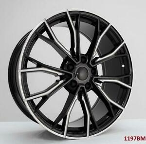 20 Wheels For Bmw 740i X Drive 2016 Up 5x112 Staggered 20x8 5 9 5